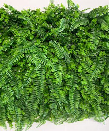 zeleni zidovi od umjetnog bilja